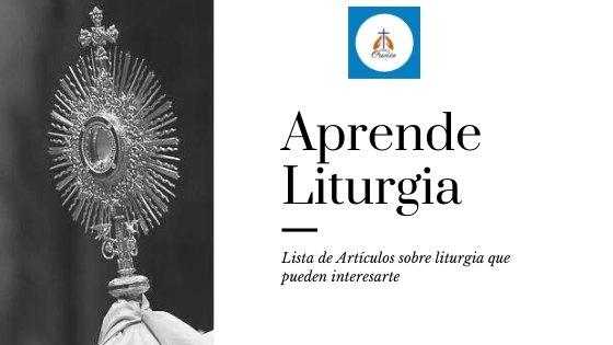 aprender liturgia catolica gratis