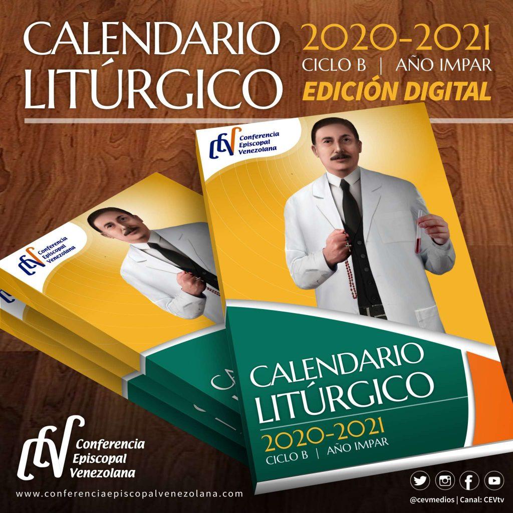 Calendario Litúrgico Pastoral 2021