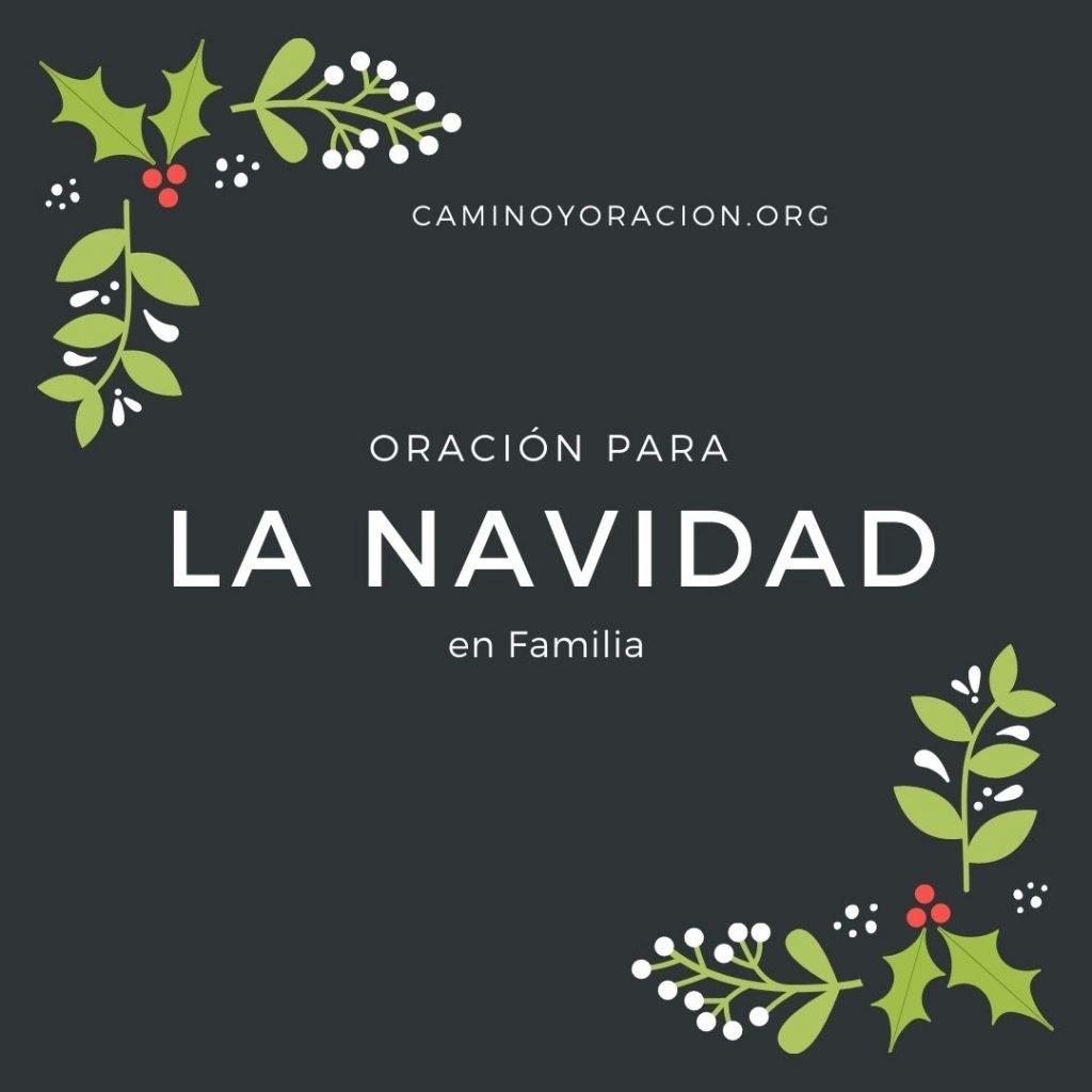 oracion para la noche de navidad en familia
