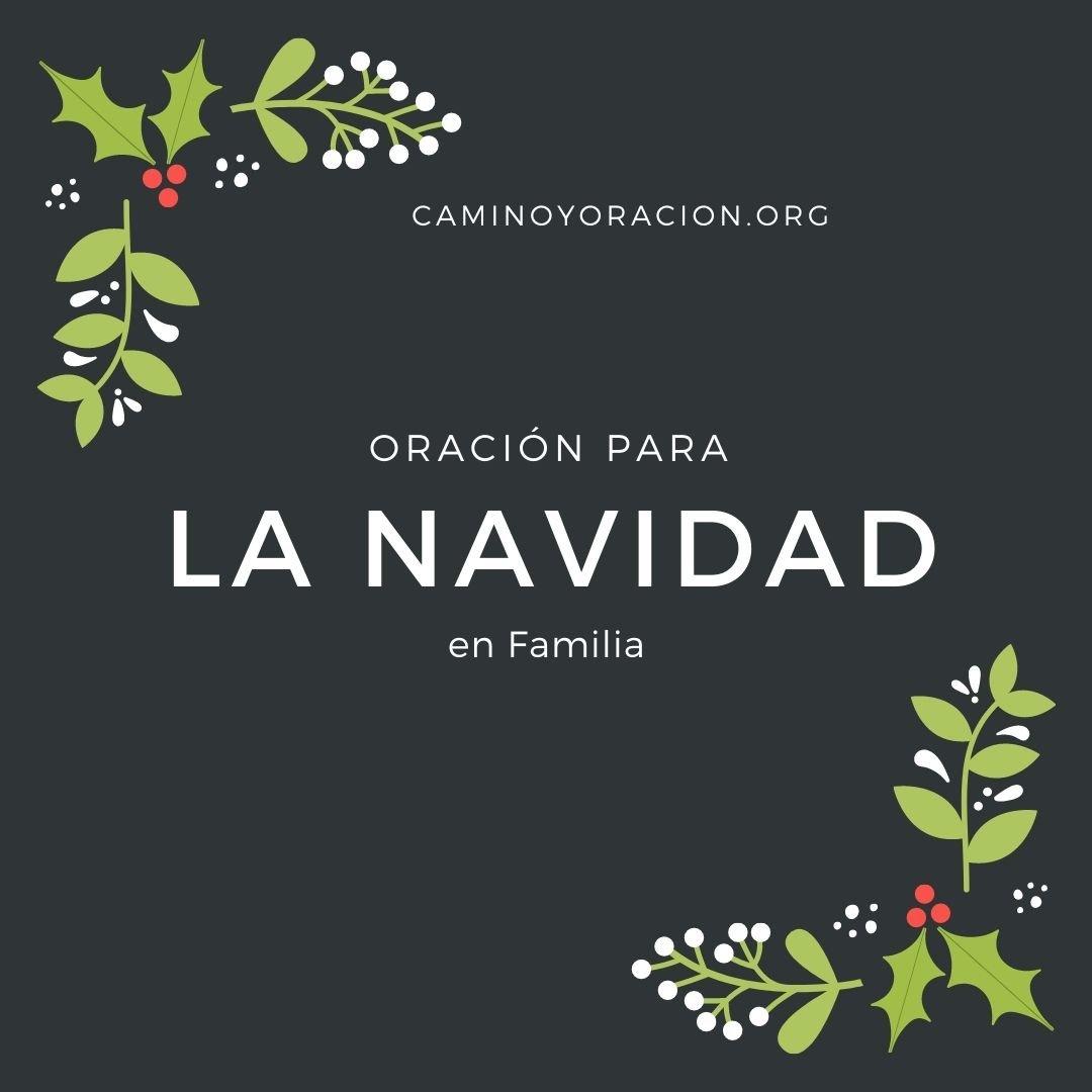 Oración para la Noche de Navidad en Familia