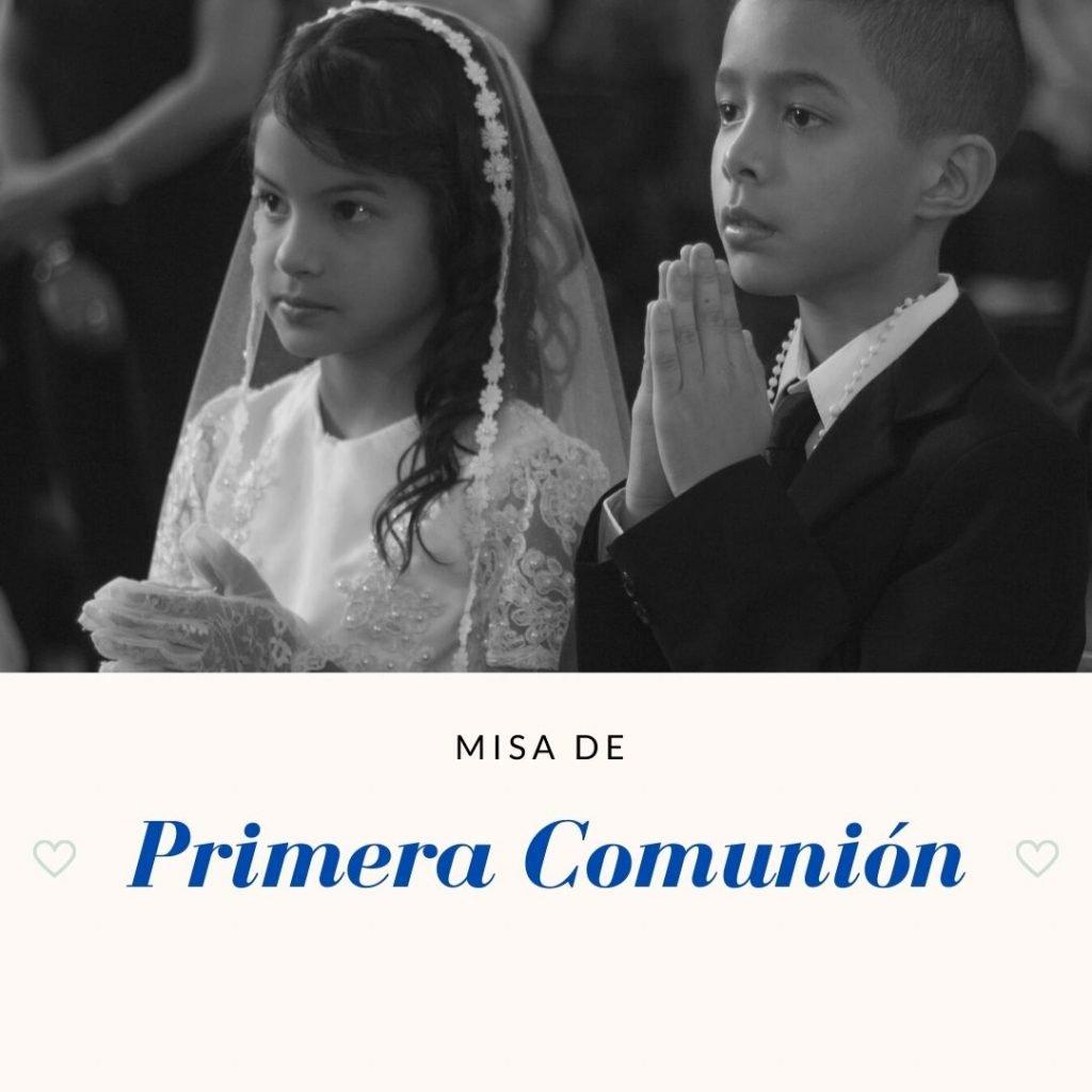 misa de la primera comunion todo lo que necesitas para celebrarla